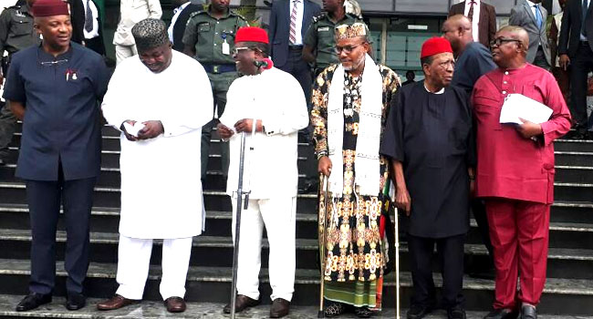 South-East Governors Hold Peace Talks With Nnamdi Kanu