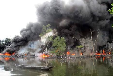 BREAKING! Army Rains Bombs On Ijaw Villages In Bayelsa