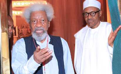 Soyinka To Buhari: 'I Think You Are Under A Trance; So Many Unforced Errors Under You'