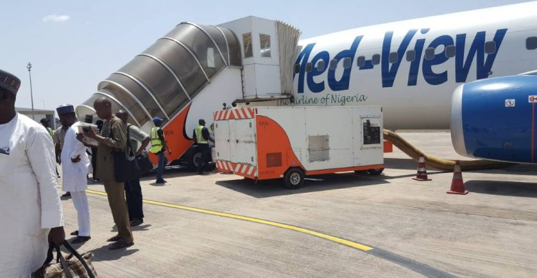 Medview Aborts Flight, Applies Emergency Brakes on Runway