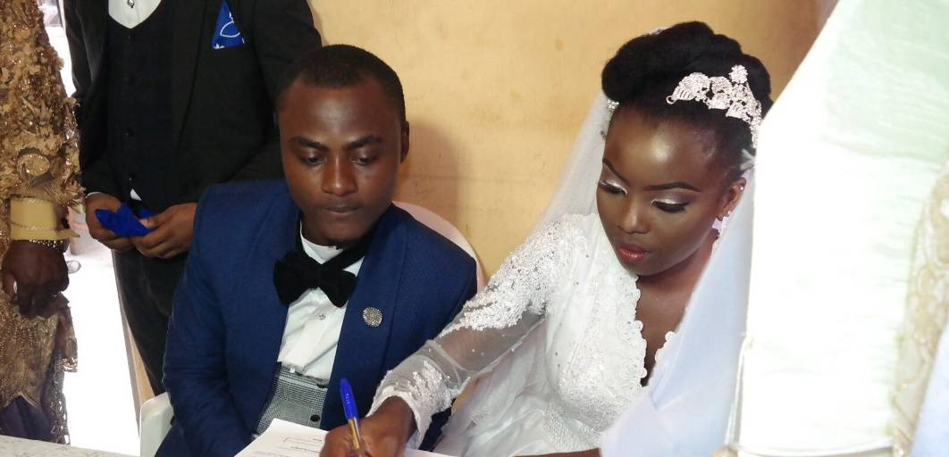PHOTONEWS: Splendour, As Niger Delta Activist, Gbenekama's Son Marry His Heartthrob