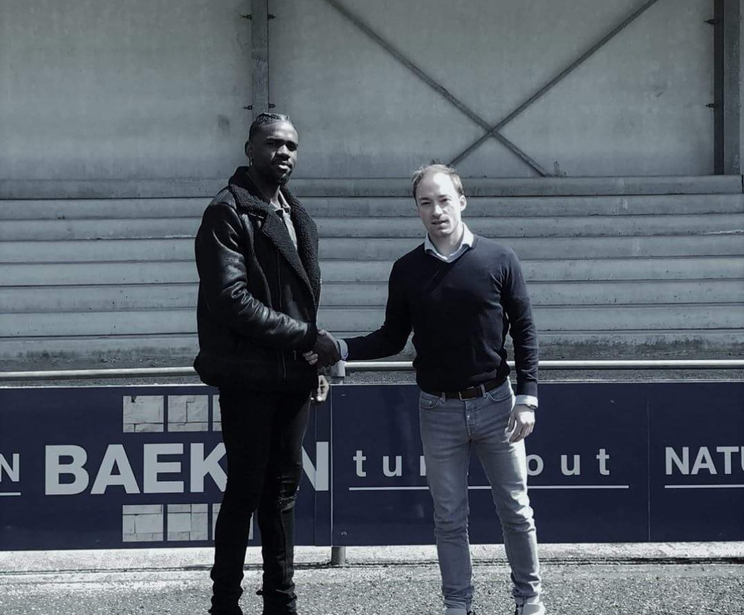 Belgium Division II Football Club Signs Nigerian-Born Ebobo Erijoh