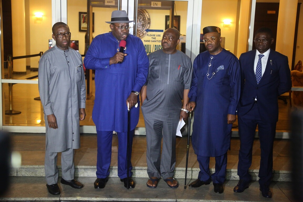 South South Govs Call On Buhari To Immediately Withdraw Water Resources Management Bill