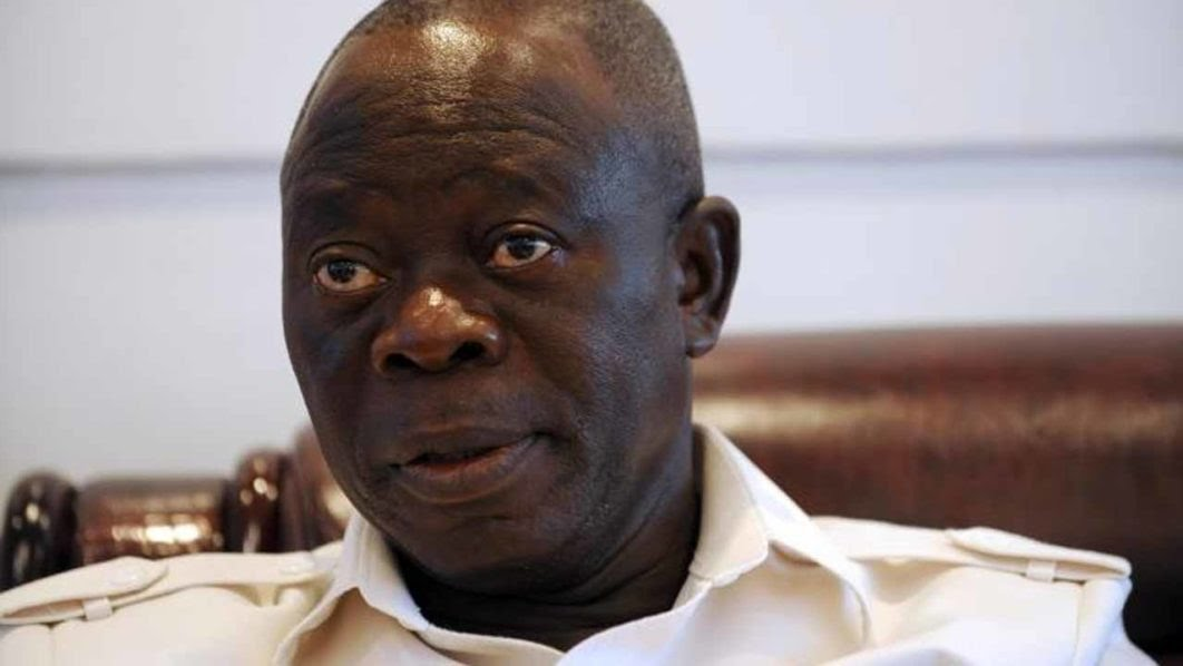 BREAKING: Oshiomhole Threatens To Expel Ngige, Sirika From APC