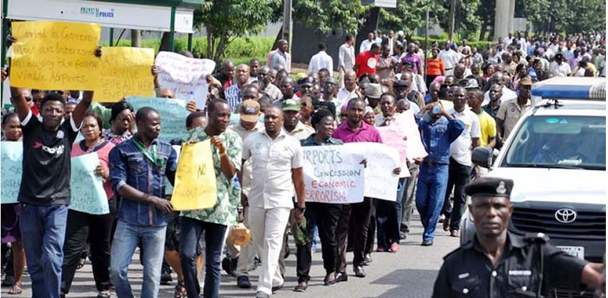 Niger Delta Youths Demand Removal Of JTF Commander, Stage Protest In Abuja