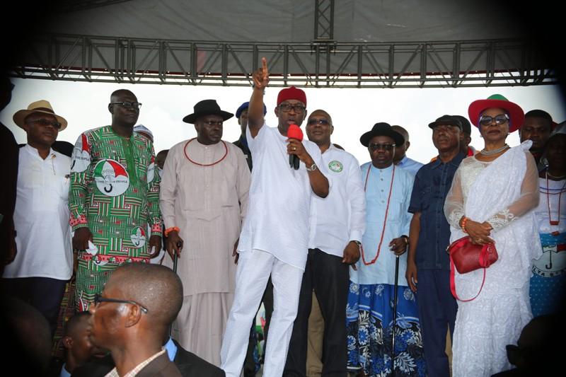 2019: Ibori, Uduaghan, Oritsejafor, Bozimo, Ogba, Okumagba, Other Delta South Leaders Endorse Okowa For Second Term