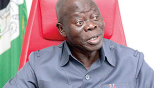 We Did Not Push Ortom Away -Oshiomhole