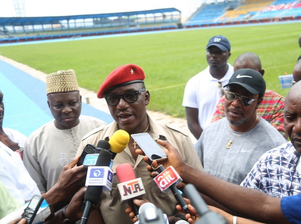 Delta: Dalung Says Stephen Keshi Stadium Asaba Can Host World Tournaments