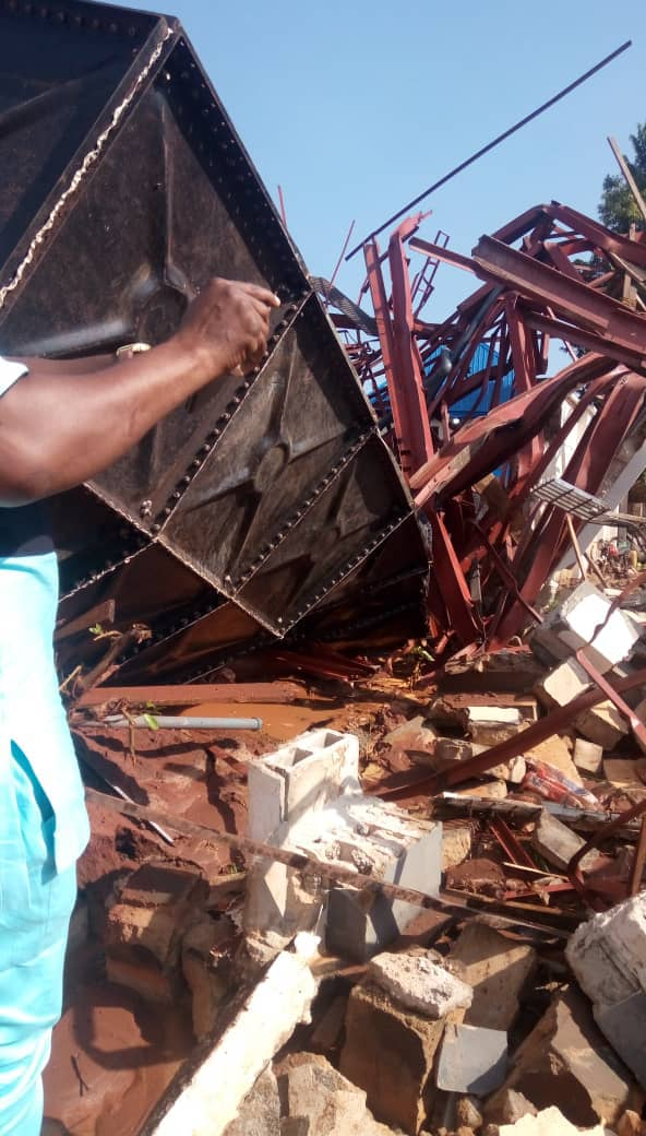 Asaba Stadium Facility Collapses During African Senior Athletics Championship